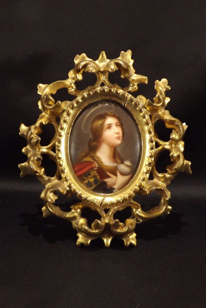 183 Best Miniature Gold Frame Painting Made In Italy