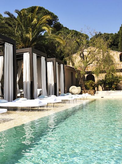 Pool at The Muse Hotel | Saint-Tropez | Camille Styles