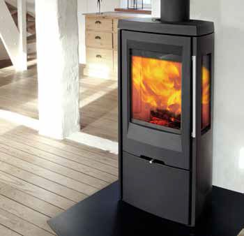 5kW TT30G Wood Burning Stove | Buy Modern Wood Burning Stoves Online | UK Stoves