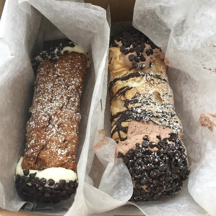 Boston - Boston's 50 Best Dishes to Eat Before You Die The Boston Cannoli - cream pastry heaven!