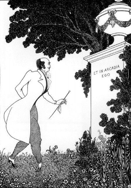 Aubrey Beardsley - Et in Arcadia Ego (1901) - Et in Arcadia ego – Wikipedia