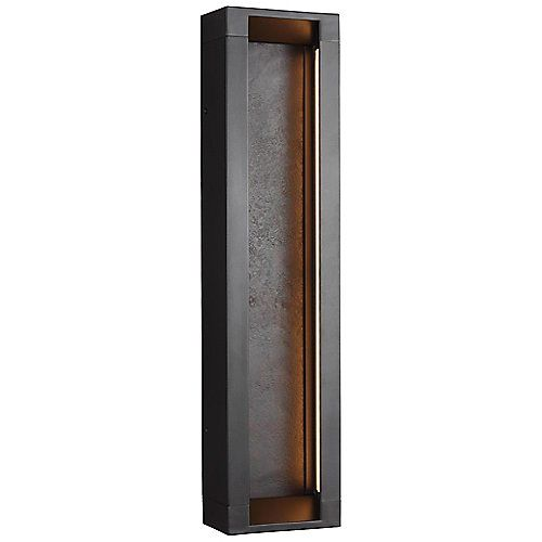 Mattix Outdoor LED Wall Sconce by Feiss at Lumens.com