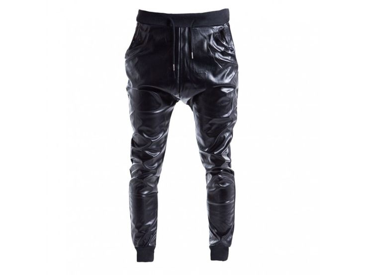 Sweatpants Leather Look €14,99 http://mymenfashion.com/sweatpants-leather-look.html