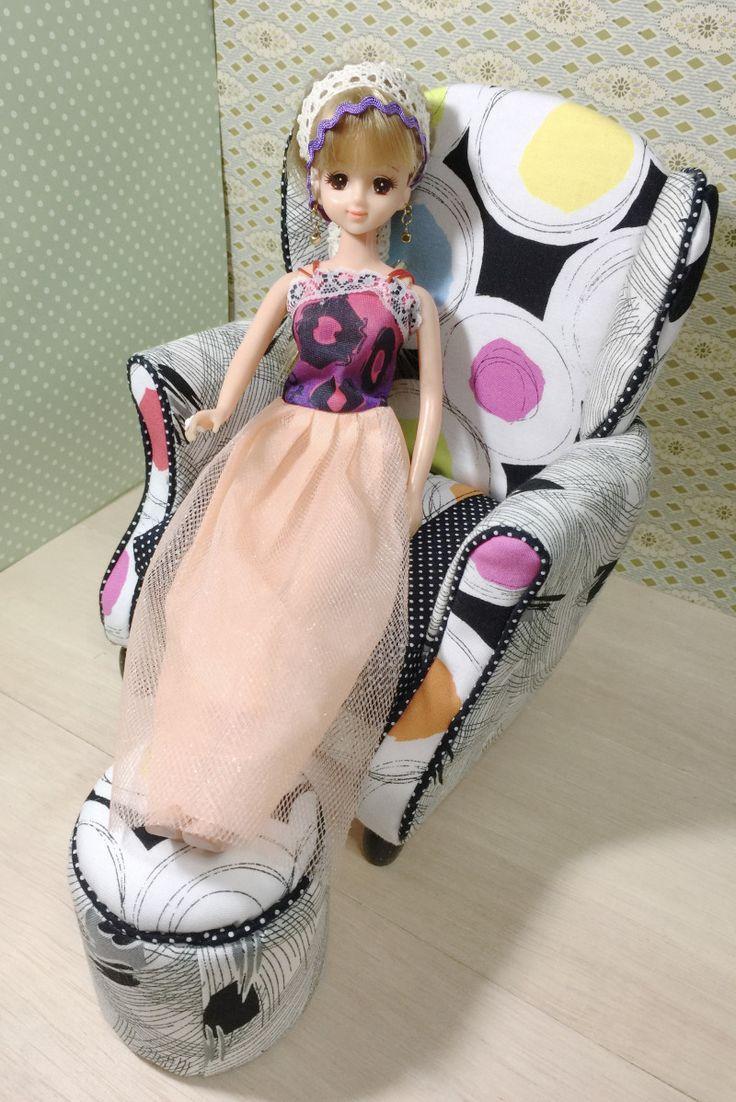 ウイングソファー お嫁に行きました。|カズミンブログ ドールのオリジナル家具