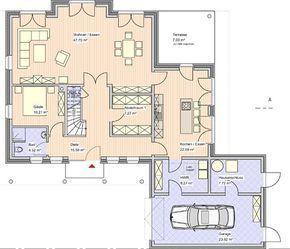 Dadurch kann das Haus selbst breiter geplant werden   – Фёдорова Любовь