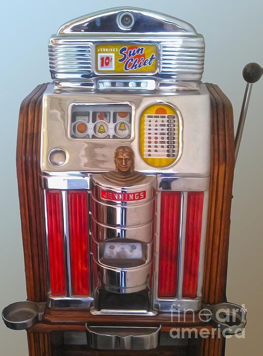 Sun Chief Slot Machine - we love the old school stuff!