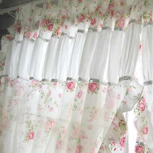 Shabby Chic craft ideas, furniture, bedding, lighting, curtains, decorations, fabrics, design ideas,