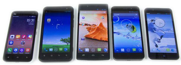 Android Básico: Los móviles chinos en la actualidad