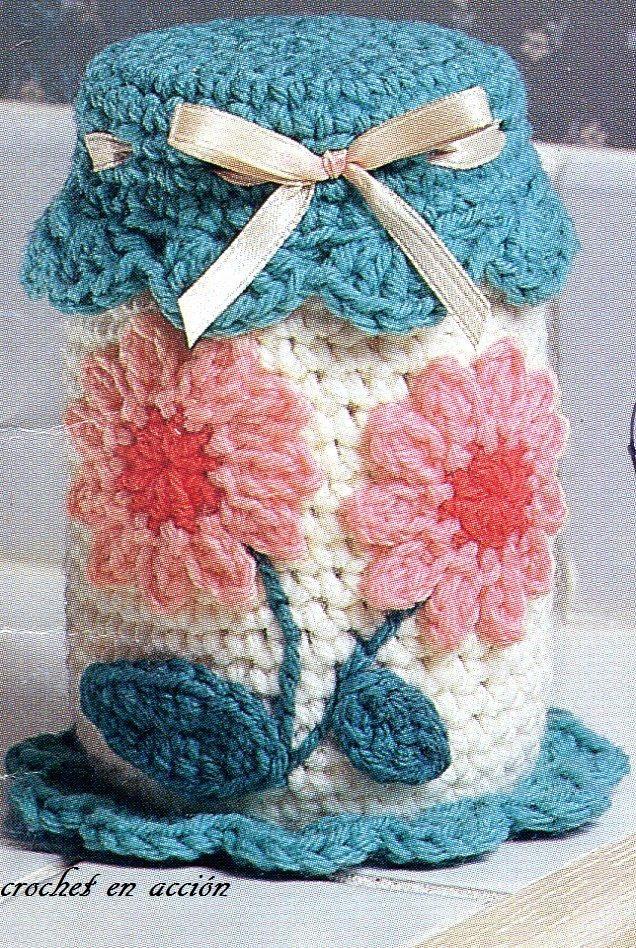 Crochet En Acción - flower pattern