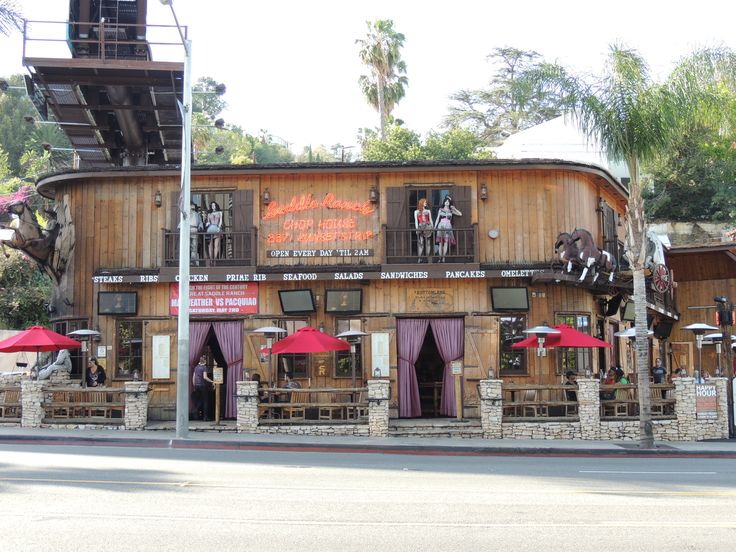 Saddle Ranch Chop House Sunset Strip West Hollywood, CA Photo James Wilkins