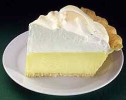 Chilled Key Lime Pie. This dessert tastes very similar to the Pay Helado de Limon which is served in VIPS restaurant chain in Mexico.
