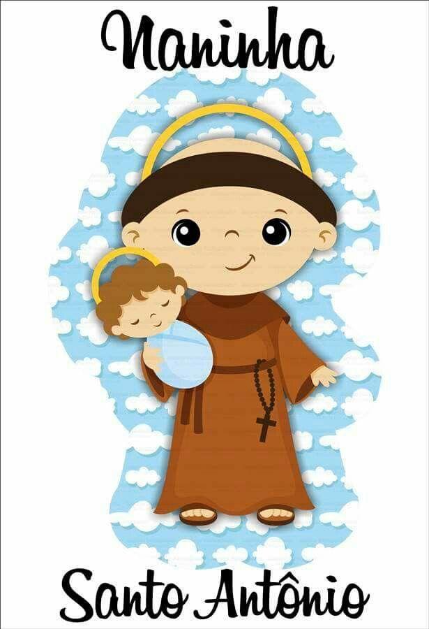 Sto Antonio Santos Para Criancas Desenho Religioso Desenhos
