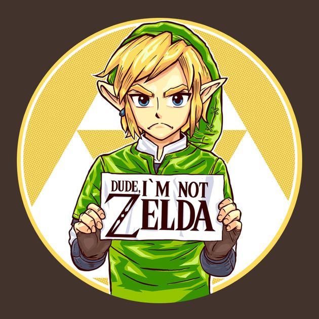 Do people still think he is zelda?