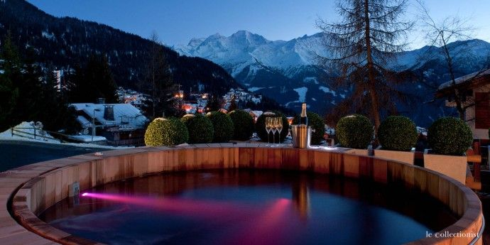 Le Collectionist Chalet Atlas, Verbier champagne