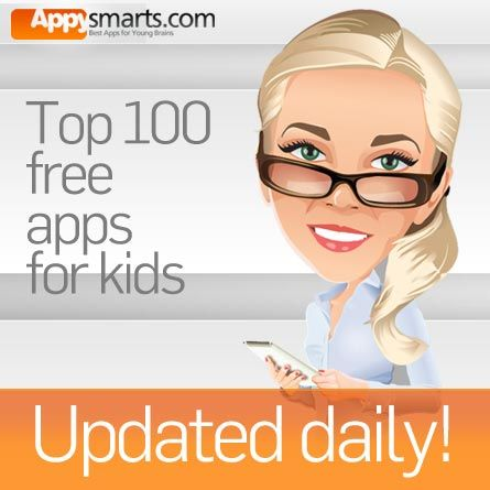 Appysmarts - Appysmarts Top 100 Free Apps for Kids (updated every hour)