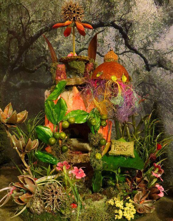Fairy Houses for Sale | Fairy House, SALE, Tropical Fairy Getaway, Woodland Fairies, Faeries ...