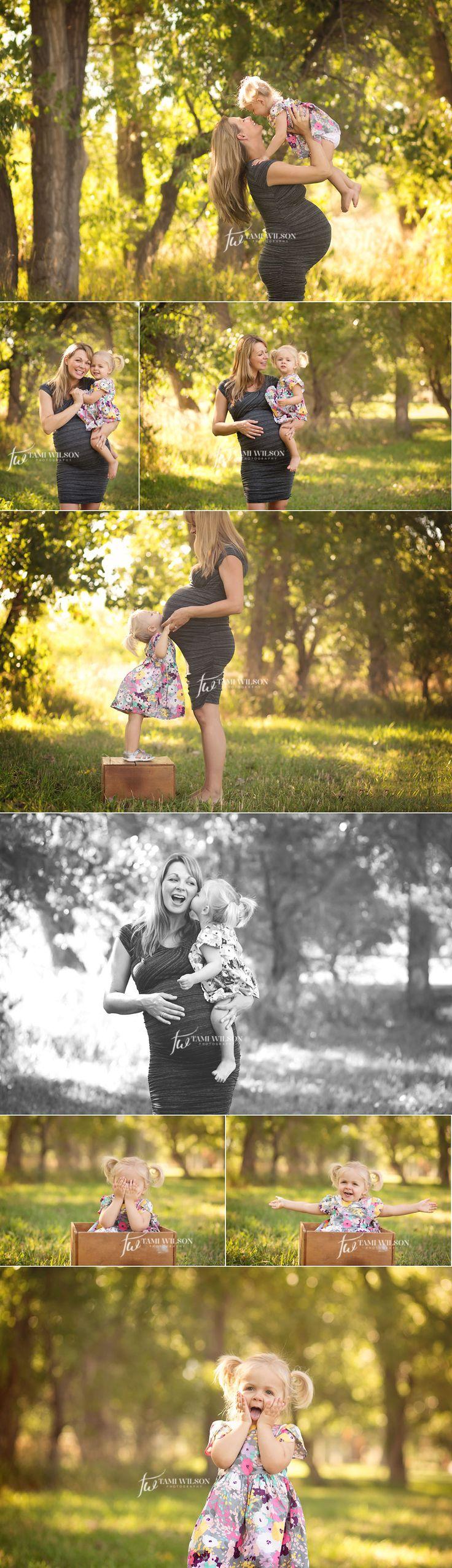 sesión de la maternidad al aire libre hermosa con la madre y su hija en parker colorado