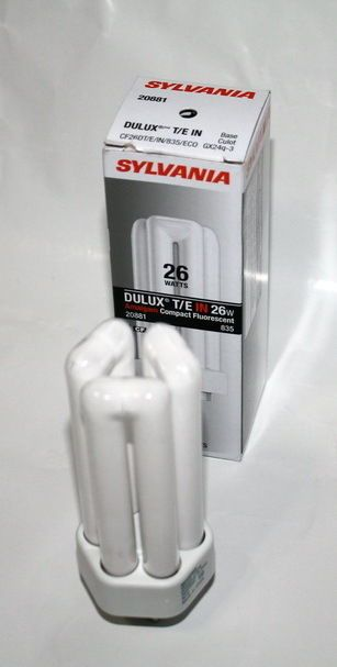99 Cent NO RESERVE #Auction !!    Available on Ebay  HERE --->>> http://ebay.to/2oq0t3I     #NEW 🆕 #Sylvania #Dulux T/E IN 26W #Amalgam #Compact #Fluorescent #Light #Bulb 💡#Ebay 💗💗