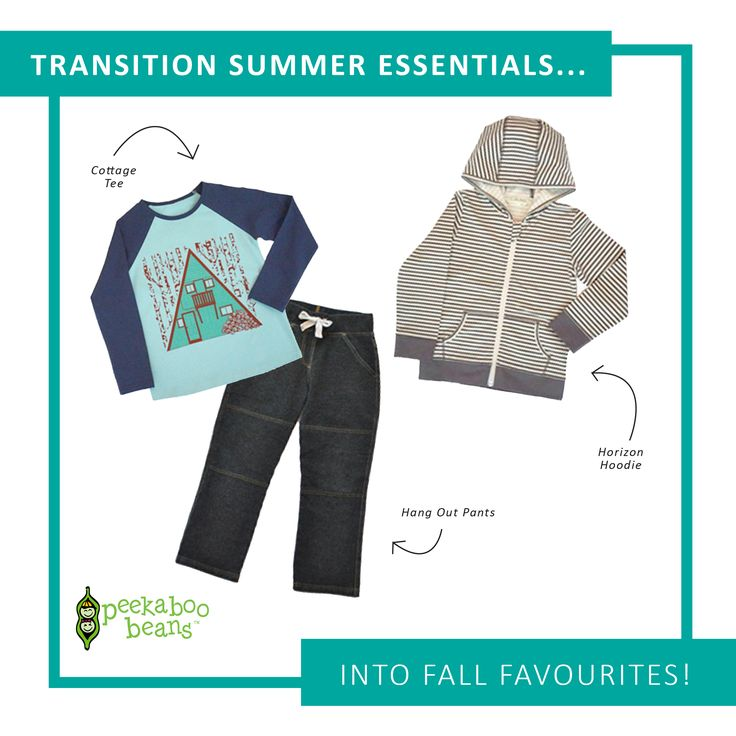 Transition into Fall | Boys Collection | www.peekaboobeans.com