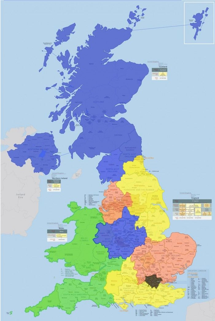 cool map of the day the uk divided up into areas with london sized populations now time out london
