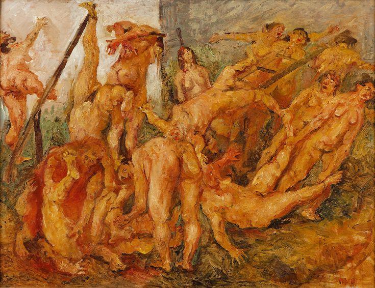 O Massacre - Fausto Pirandello - 1946