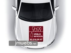 Rotulación de Coches con Vinilo de Impresión en Barcelona. Capó Motor. Precios en www.jmwebs.com - Teléfono: 935160047
