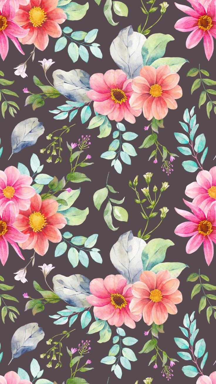 Best 25+ Floral wallpapers ideas on Pinterest | Floral print background, Iphone wallpaper ...