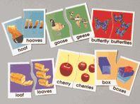 Irregular plural noun. Basic skills puzzle. Full, colourful puzzles to enhance language skills.