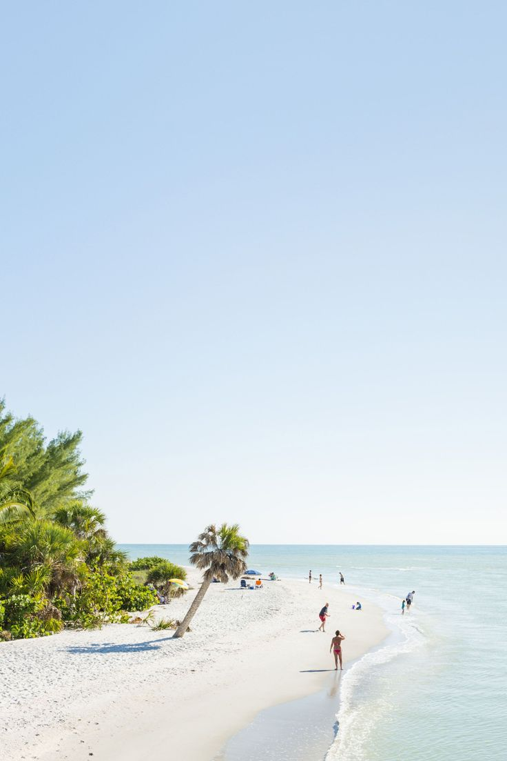 It's Blind pass beach on the western end of Sanibel Island, Florida