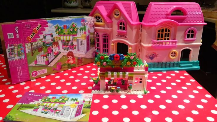 Детский подарок Ban Bao. Цветочный магазин / детский канал / для детей