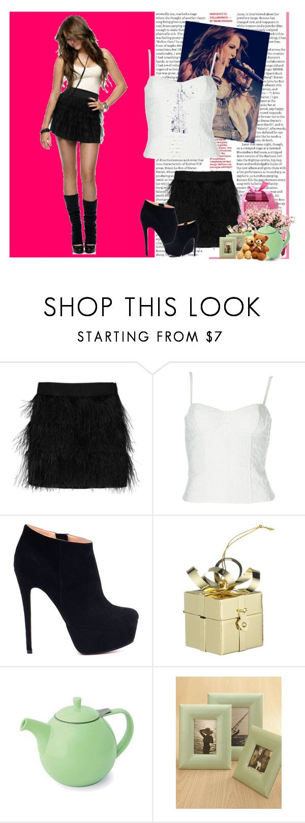 """Miley Cyrus*-*"" by otrajorgelis ❤ liked on Polyvore featuring Max Azria, Cyrus, Milly, Alice + Olivia and John Lewis"