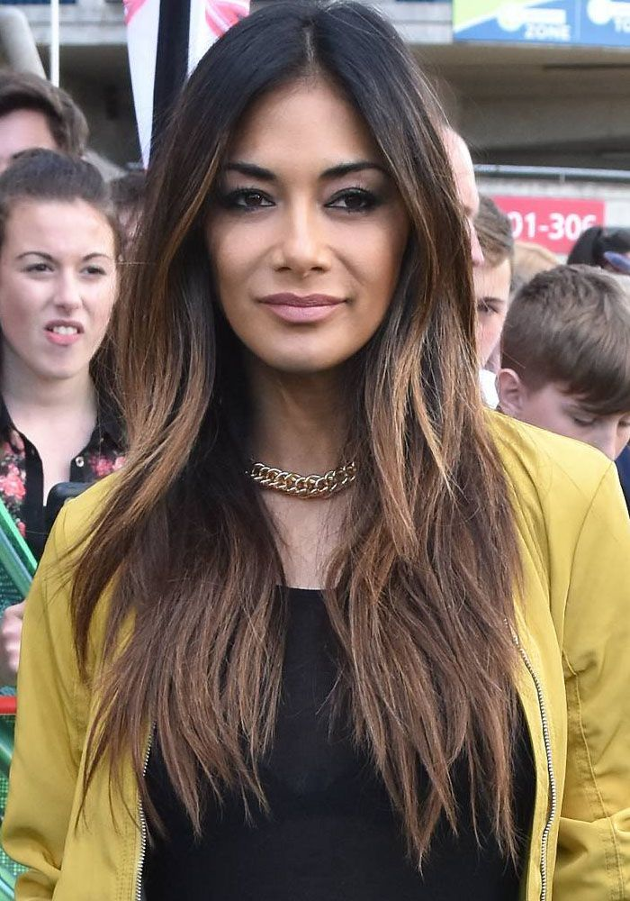"""Nicole Scherzinger arrives at Croke Park for the """"X Factor"""" 2016 Dublin auditions in Ireland on July 1, 2016"""
