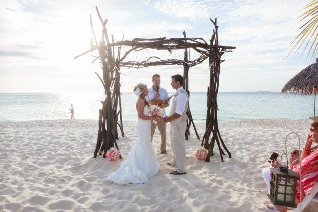 wedding in aruba bucuti tara beach