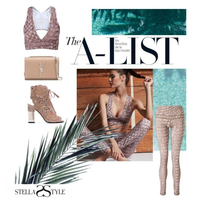 Varley activewear on the A-List💫💫💫. by stellasstyle247activewear on Polyvore featuring polyvore, fashion, style, Roger Vivier, Yves Saint Laurent, Brooks and clothing