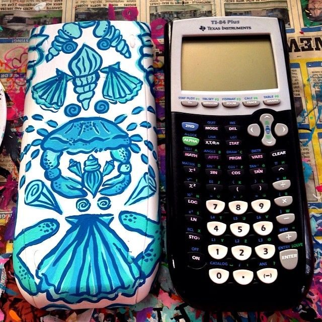 pinkpolosandpearls:  Lilly Pulitzer calculators? Um yes.