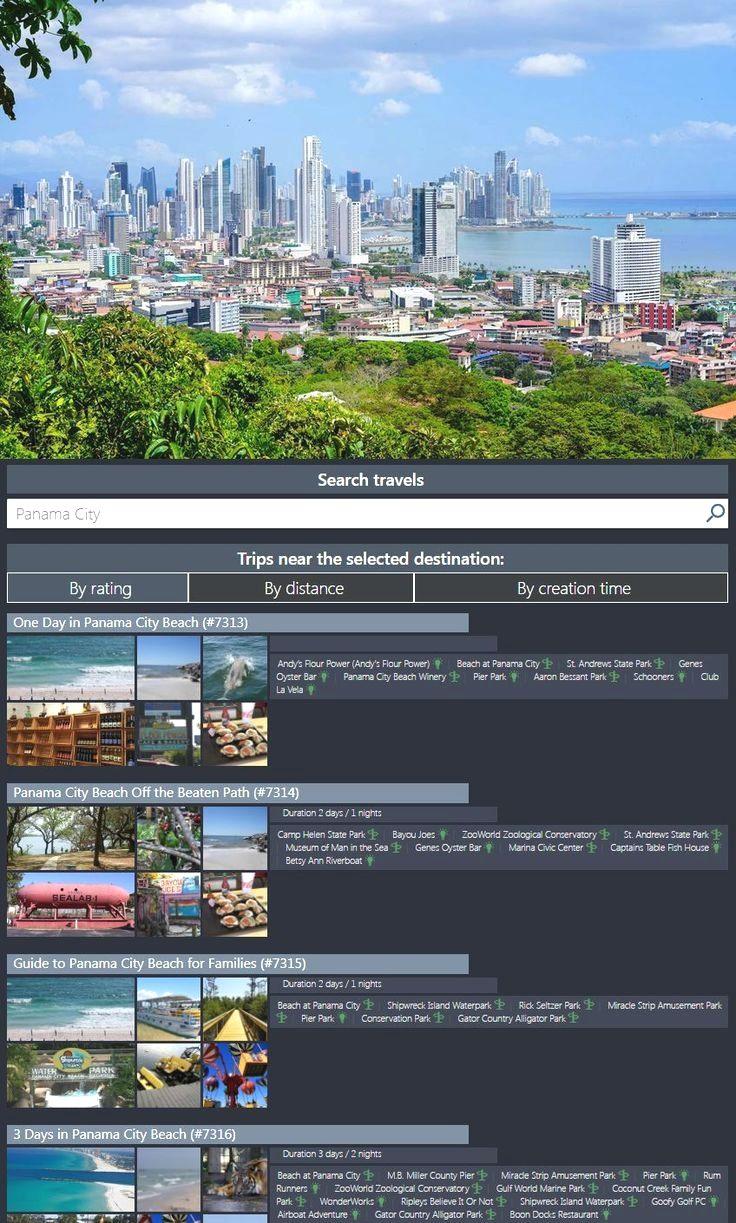 Panama Travel Panama City Panama City Travel