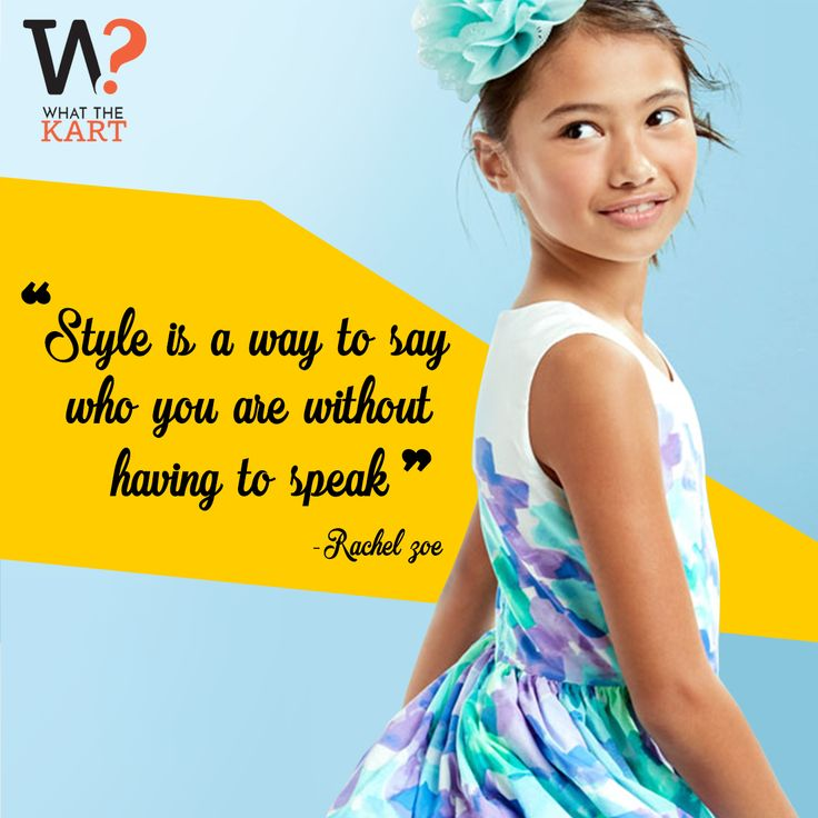 Pick the best of styles for your kids from What The Kart! SHOP NOW : whatthekart.com #kids #fashion #clothing #style #WhatTheKart