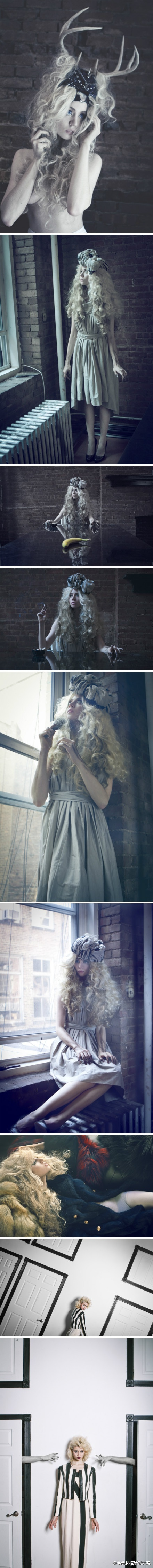 Model: Allison Harvard Link does not provide photographer.