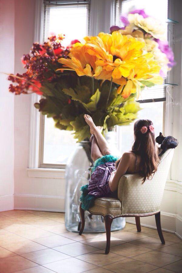 радует креативные фото с цветами отдыху болгарии