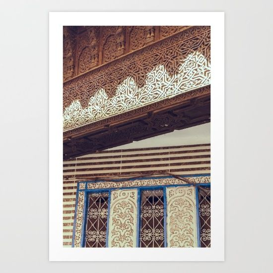 Collect your choice of gallery quality Giclée, or fine art prints custom trimmed by hand in a variety of sizes with a white border for framing. https://society6.com/product/morocco-50_print?curator=wellglow