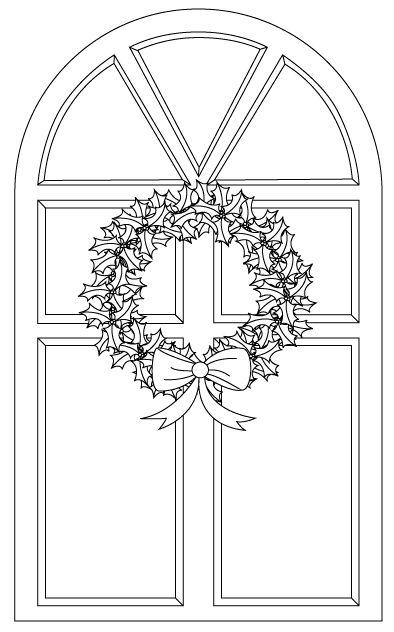 Kerst deur