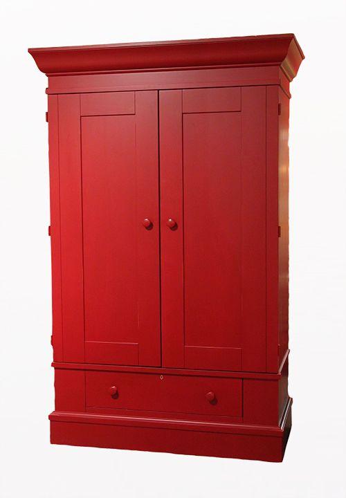 Czerwona szafa