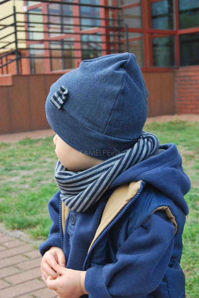 Kamelperd czapka, chustka, bezrękawnik