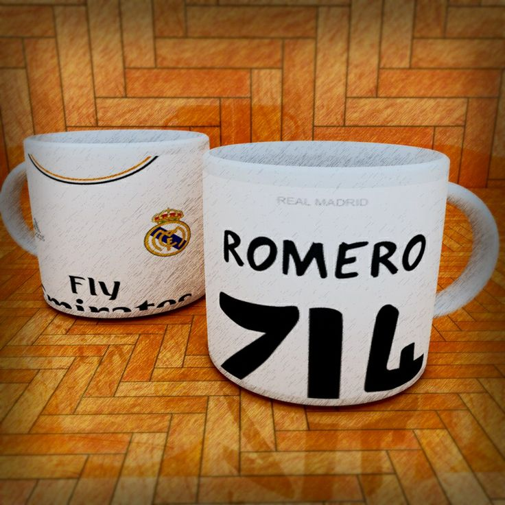Mug camiseta Real Madrid