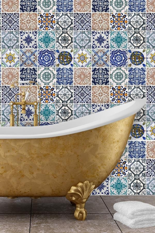 Mosaic Tile Floor Ideas For Vintage Style Bathrooms Horror Underground Mosaic Bathroom Tile Mosaic Bathroom Mosaic Floor Tile