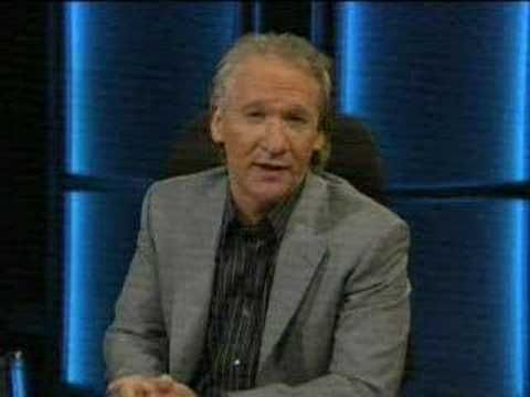 Bill Maher on Ted Haggard