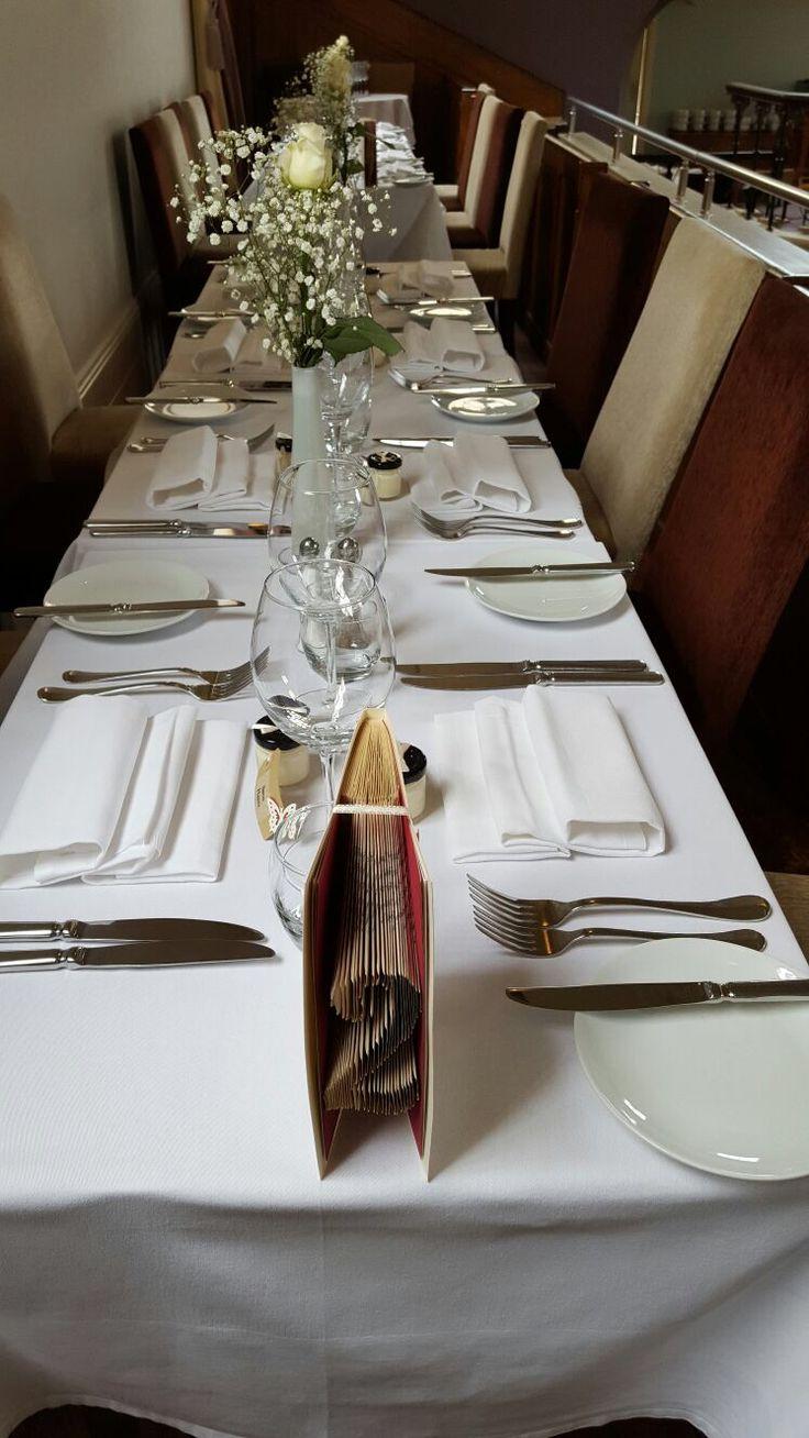 Tables Being Set Up For The Wedding Unique WeddingsWedding VenuesDerbyFor