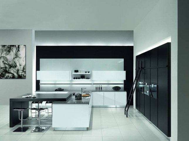 Y-Line Matt White + Black - Palazzo Kitchens Glasgow