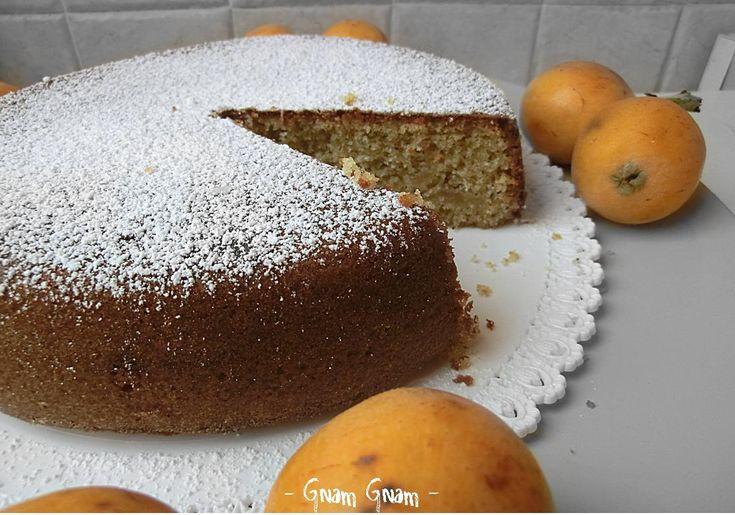 Torta con grano saraceno e nespole