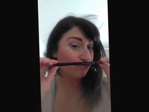Try it, use it...be beautiful...be Younique - Moodstruck Lipliner - YouTube
